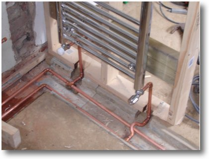 Plumbing - My House Extension