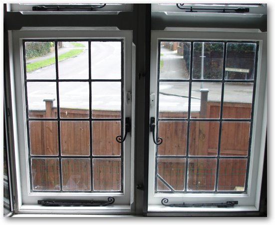 The Window As Seen From Inside Of House